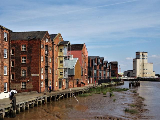 Old Harbour, River Hull, Kingston upon Hull