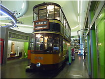 NS5565 : Glasgow tramcar 1088 in the Riverside Museum by David Hillas