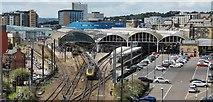 NZ2463 : Newcastle Central Station by Chris Morgan