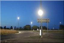 TA1176 : Hunmanby Sands Roundabout by David Howard