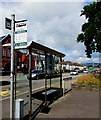 ST3089 : Outdated bus stop sign, Malpas Road, Crindau, Newport by Jaggery