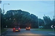TA1143 : White Cross Roundabout, Leven by David Howard