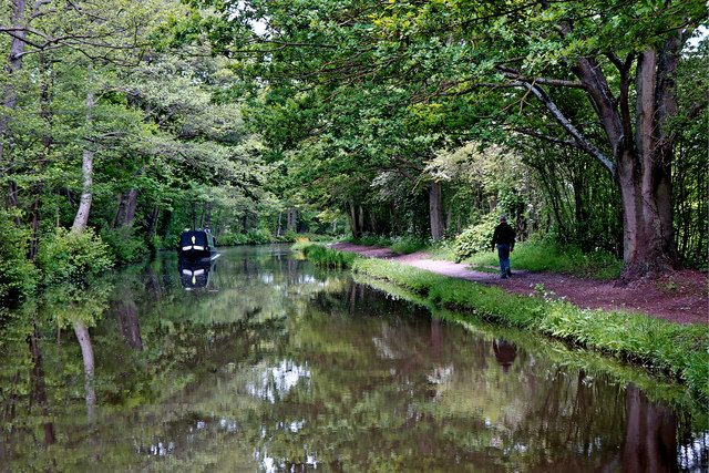 Coventry Canal near Fradley South in Staffordshire