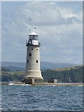SX4650 : Plymouth Breakwater lighthouse by Rob Farrow
