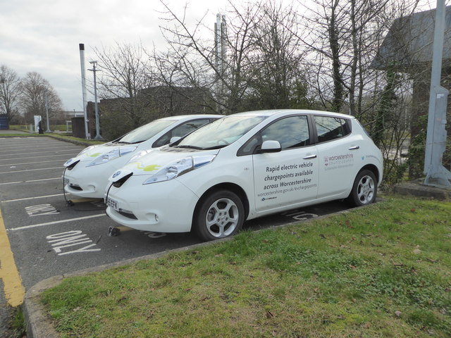 Electric vehicle charging - County Hall