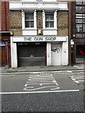 TQ7567 : The Gun Shop, 79, High Street, Chatham by John Baker