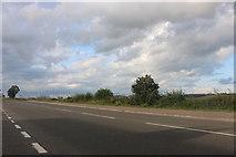 SK9233 : Great North Road south of Grantham by David Howard