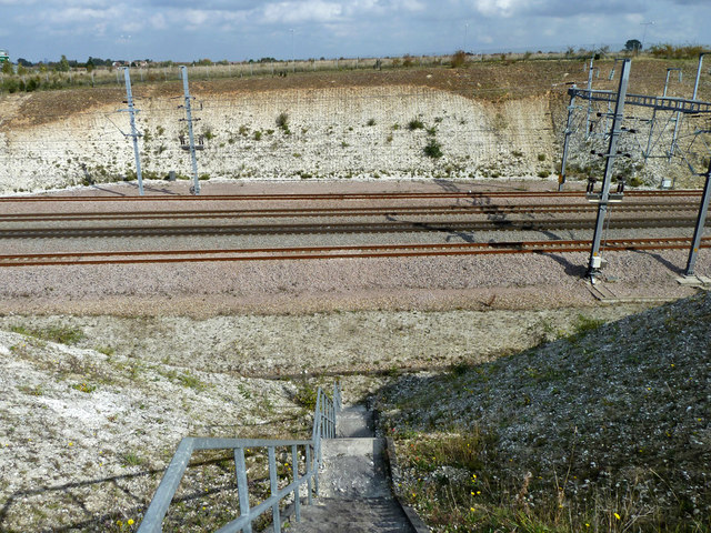 Railway access at Southfleet Junction