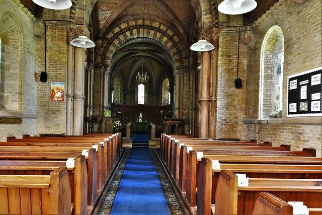 Bridekirk, St. Bridget's Church: The nave