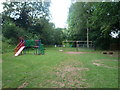 SO6931 : Playground at Dymock by Fabian Musto