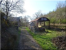 NM4339 : Farm buildings, Ulva by Richard Webb