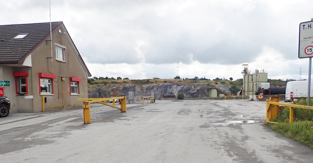 Tullyvallen aggregate quarry