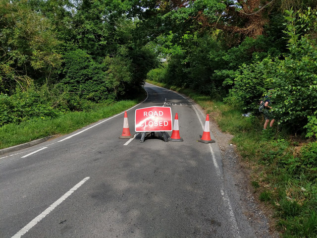 Park Road is closed