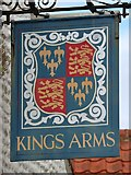 TG0243 : Kings Arms sign by Oast House Archive