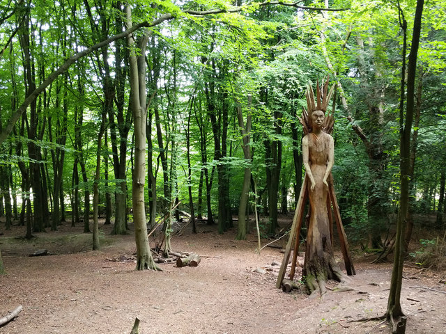 Witch in Banstead Wood