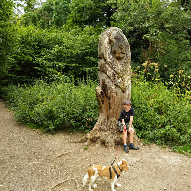 Lion in Banstead Wood