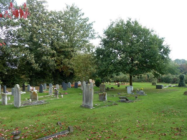 In Southfleet churchyard