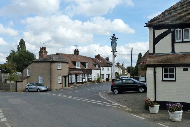 Cottages on Warren Road, Southfleet