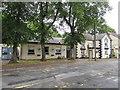 SO1409 : Tree-lined social club, Church Street, Tredegar by Jaggery