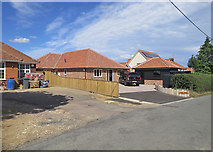 TM2844 : Waldringfield: a new bungalow on Cliff Road by John Sutton