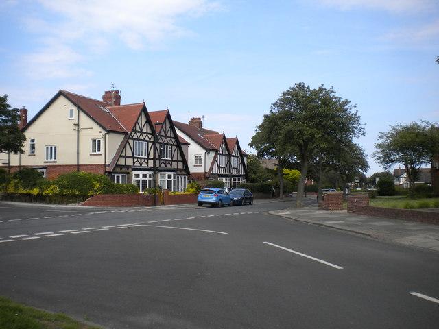 North end of Swinbourne Gardens, Monkseaton