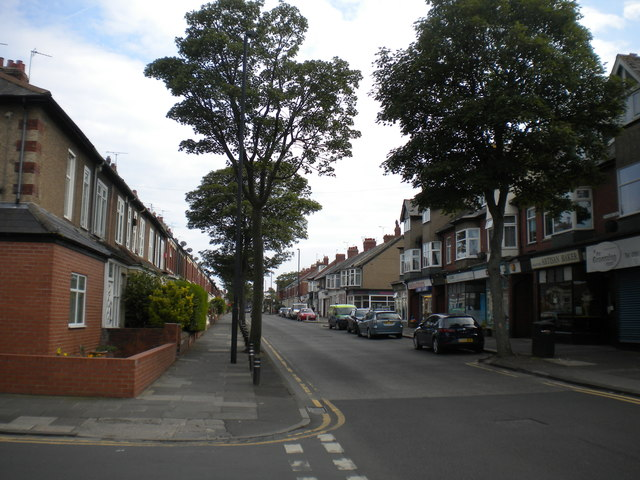 North end of Ilfracombe Gardens, Monkseaton