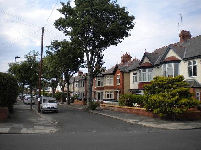 Evesham Avenue, Whitley Bay