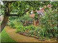 SJ7481 : Tatton Park: Behind the Gardener's Cottage by David Dixon
