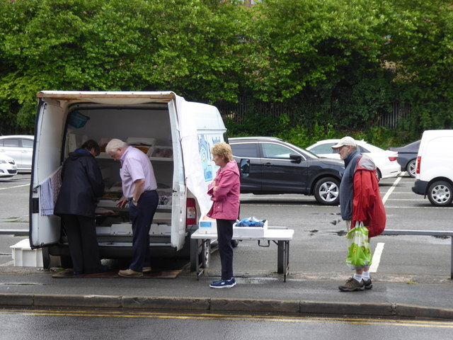 Fresh fish van, Omagh