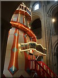 TG2308 : Helter Skelter, Norwich Cathedral by Oast House Archive