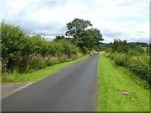 NY6614 : Country road near High Plains Farm by Oliver Dixon