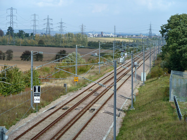 Connecting line from National Rail to CTRL