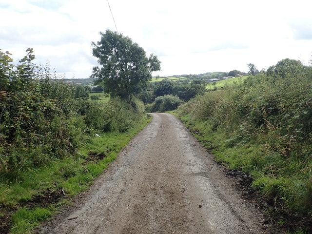 Descending Barkers Lane