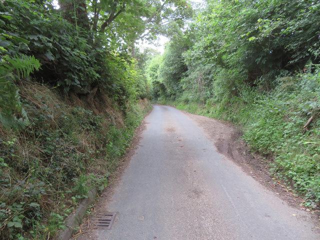 Passing place in Tir-y-Fron Lane
