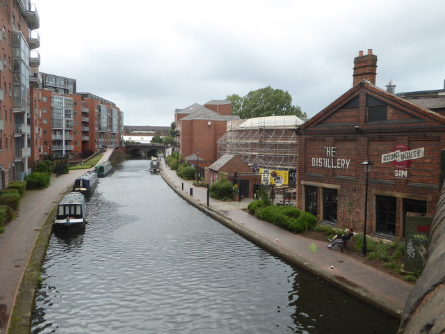 Birmingham Canal Old Line from Sheepcote Street