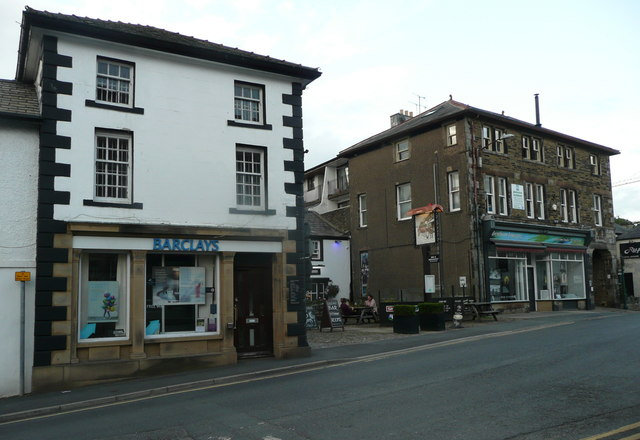 Buildings in the centre of High Bentham