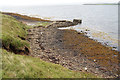 ND4799 : Jetty on Glimps Holm by Bill Boaden