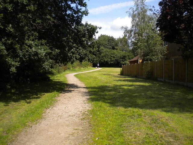 Path off Smalley Drive, Oakwood