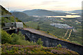 NN1374 : Hillside Surge Tank for Lochaber Smelter, Fort William, Scottish Highlands by Andrew Tryon