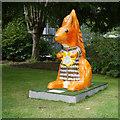 NH6644 : Go Nuts Squirrel, Highland Hospice by Craig Wallace