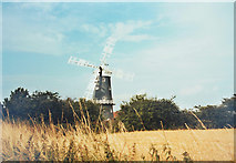 TF7632 : Great Bircham windmill by Malcolm Neal