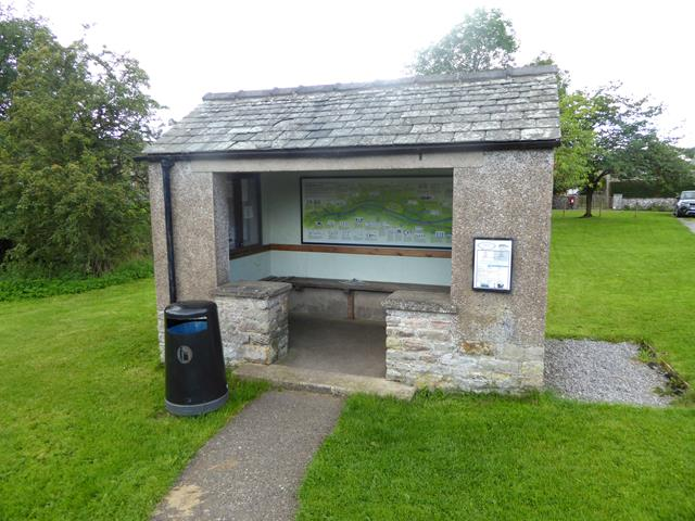 Bus shelter, Great Asby