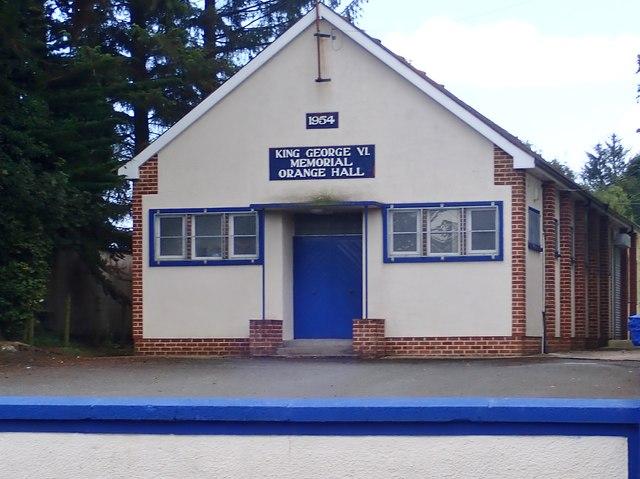 King George VI Memorial Orange Hall, Newtownhamilton