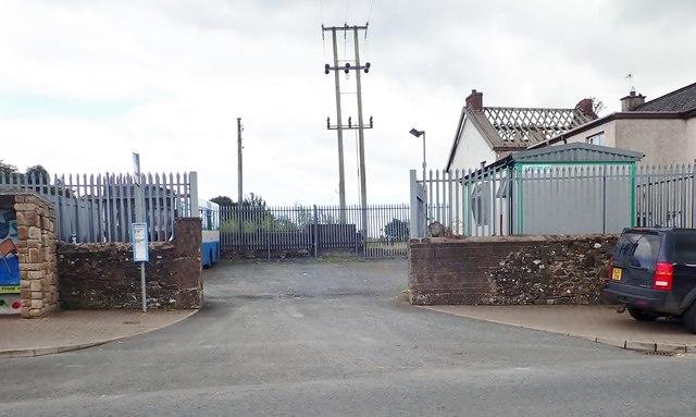Newtownhamilton Ulsterbus depot