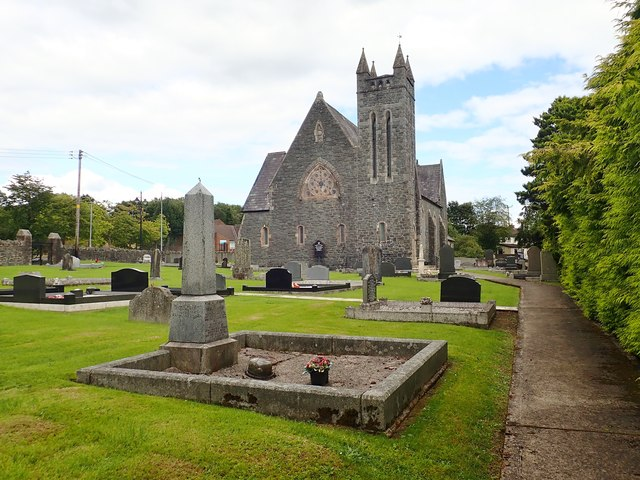 St John's CoI, Newtownhamilton viewed from the West