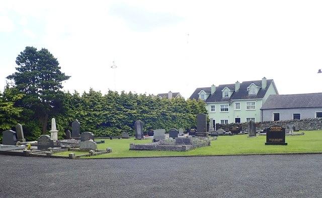 Graveyard at St John's CoI, Newtownhamilton