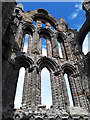 NZ9011 : Whitby Abbey: east end by Stephen Craven