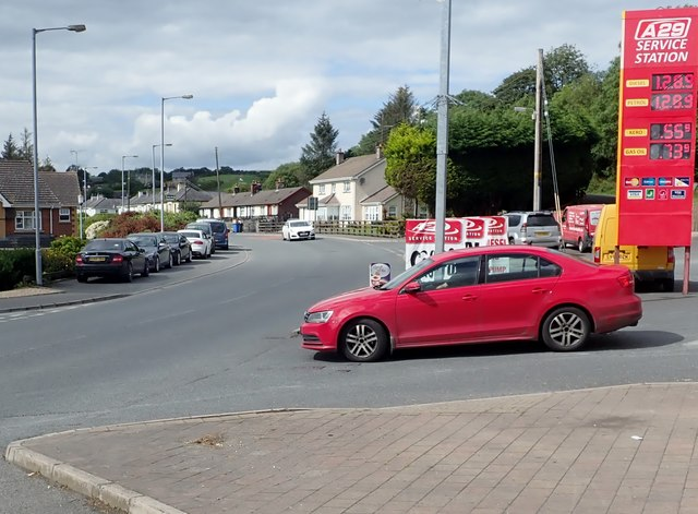 The Armagh Road (A29) at Newtownhamilton