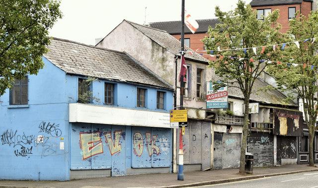 Nos 176-188 Sandy Row, Belfast - August 2019(1)