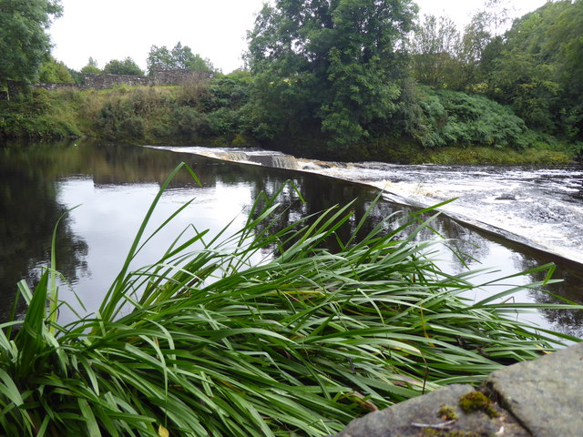 Weir at the Lovers Retreat, Mullaghmore / Campsie